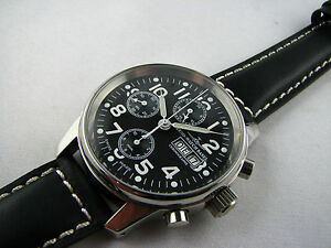 ZENO-Flieger-Chronograph-Handaufzug-Valjoux-7760