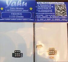 Yahu Models YMA4836 1/48 PE Polikarpov I-153 instrument panel ICM