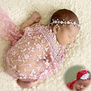 Newborn-Maternity-Props-Baby-Photo-Props-Photography-Quilt-With-Free-Headband