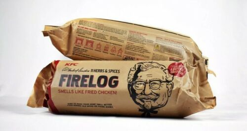 NEW SEALED KFC FIRE LOG 11 HERBS AND SPICES ENVIROLOG