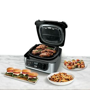 4-in-1-Indoor-Grill-w-4-Quart-Air-Fryer-Roast-Bake-Cyclonic-Grilling-Technology