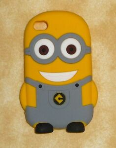 buy popular 1af94 59698 Details about despicable me 2 GRAY minion apple iPhone 4/4s case cover  silicone usa seller