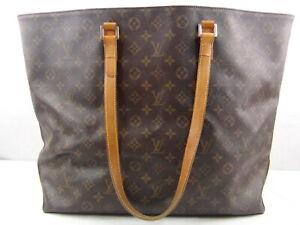 Us Seller Authentic Louis Vuitton Monogram Cabas Alto Tote Bag Purse Good Lv Ebay