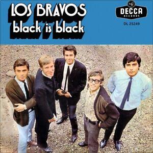 7-034-LOS-BRAVOS-Black-Is-Black-I-Want-A-Name-MIKE-KENNEDY-German-Press-DECCA-1966