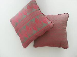 Divano Rosso Cuscini : Coppia cuscini coordinati cuscino design arredo divano verde e