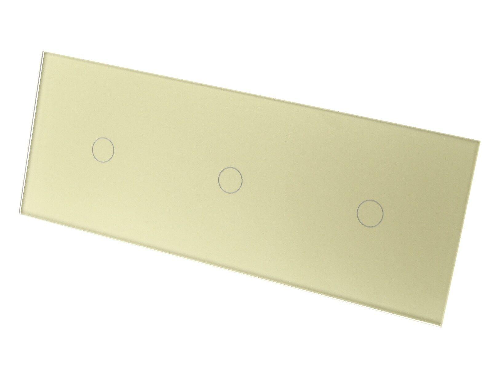 I Lumos Luxe Or Verre Panneau Tactile WiFi/4 G Remote lumière ON/OFF DEL lumière Remote Commutateurs 192636