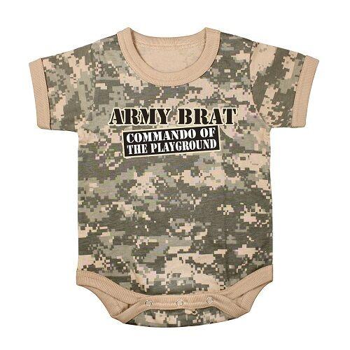 Army Brat ACU Camo 1pc BodysuitCOMMANDO OF THE PLAYGROUNDDRESSCOSTUME