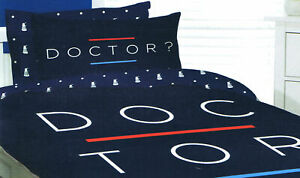 DOCTOR-WHO-Queen-Bed-QUILT-DOONA-DUVET-COVER-Pillows-Adults-Kids-210-x-210