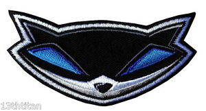 Iron-on-Play-station-Sly-cooper-Thieves-Military-Applique-Emblem-Patch