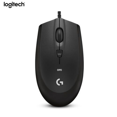 Logitech G90 Wired Mice Laptop PC Gamer 2500dpi Switch USB Gaming Mouse