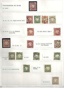 Bayern 1888 selection of 17 ERRORS CANC/MLH