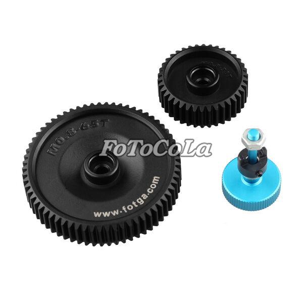 2pcs Fotga standard 38T 65T 0.8mm pitch lens gear for DP500IIS II follow focus