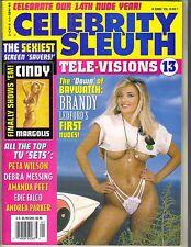 BRANDY LEDFORD BAYWATCH Celebrity Sleuth 2001 Vol 14 No 1 CINDY MARGOLIS