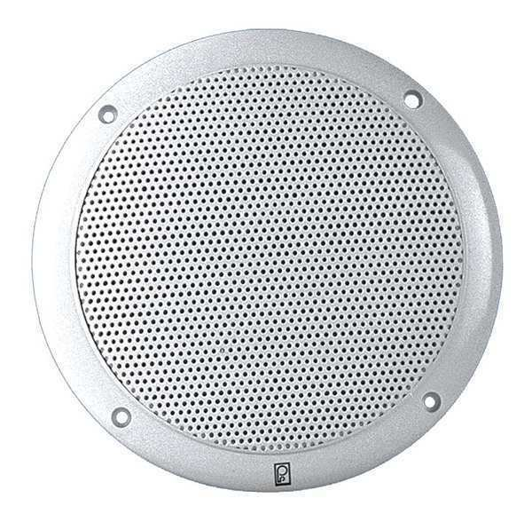 POLY-PLANAR MA4056-W Outdoor Speakers,White,2-1 2in.D,40W,PR