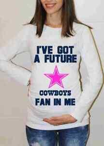 Dallas Cowboys Baby Girl Shirt Baby Shower Maternity Shirt Pregnancy ... 2418ca1bd