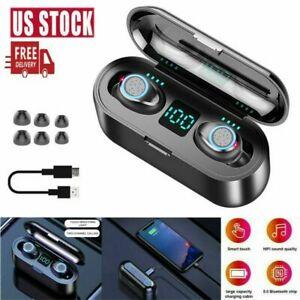 Bluetooth-5-0-Headphones-Headset-TWS-Wireless-In-Ear-Sport-Stereo-Earphone-IPX6