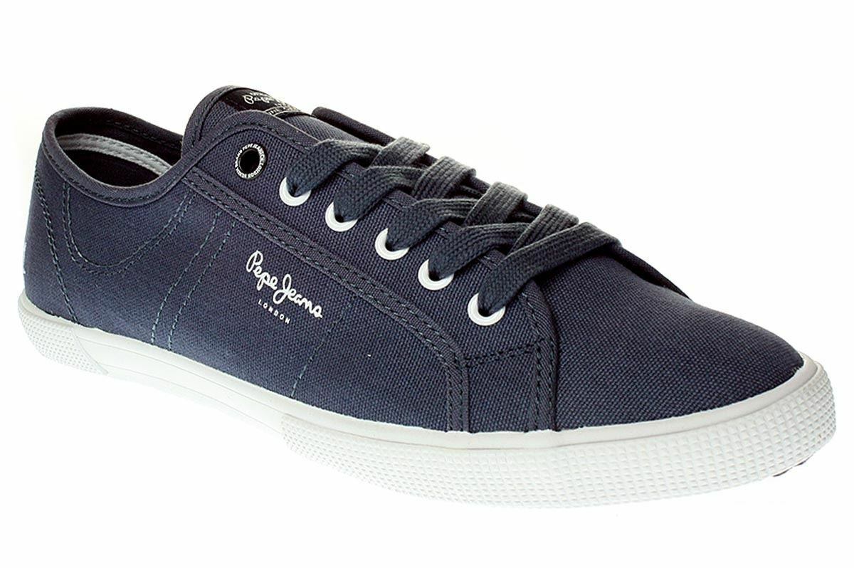 Pepe Jeans London ABERMAN BASIC - Herren Schuhe Sneaker - PMS30207 - 588-ocean