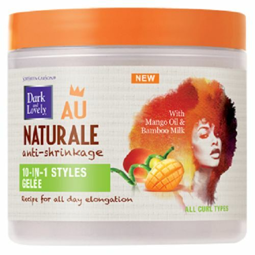 Dark and Lovely Au Naturale AntiShrinkage 10in1 Styles Gelee 152g