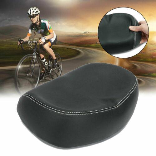 Big Ass Bicycle Bike Cycling Noseless Saddle Wide Large Soft PVC PU Pad Seat US