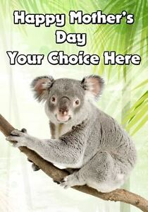 Koala bear mothers day personalised greeting card pid346 mum mummy image is loading koala bear mothers day personalised greeting card pid346 m4hsunfo