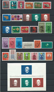 Allemagne-RFA-Annee-1968-Neuf-MNH-Complete