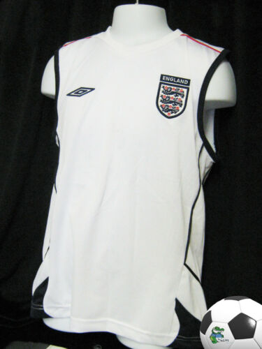 UMBRO ENGLAND FOOTBALL Shirt Vest Youth Boys Girls Age 1112 Years