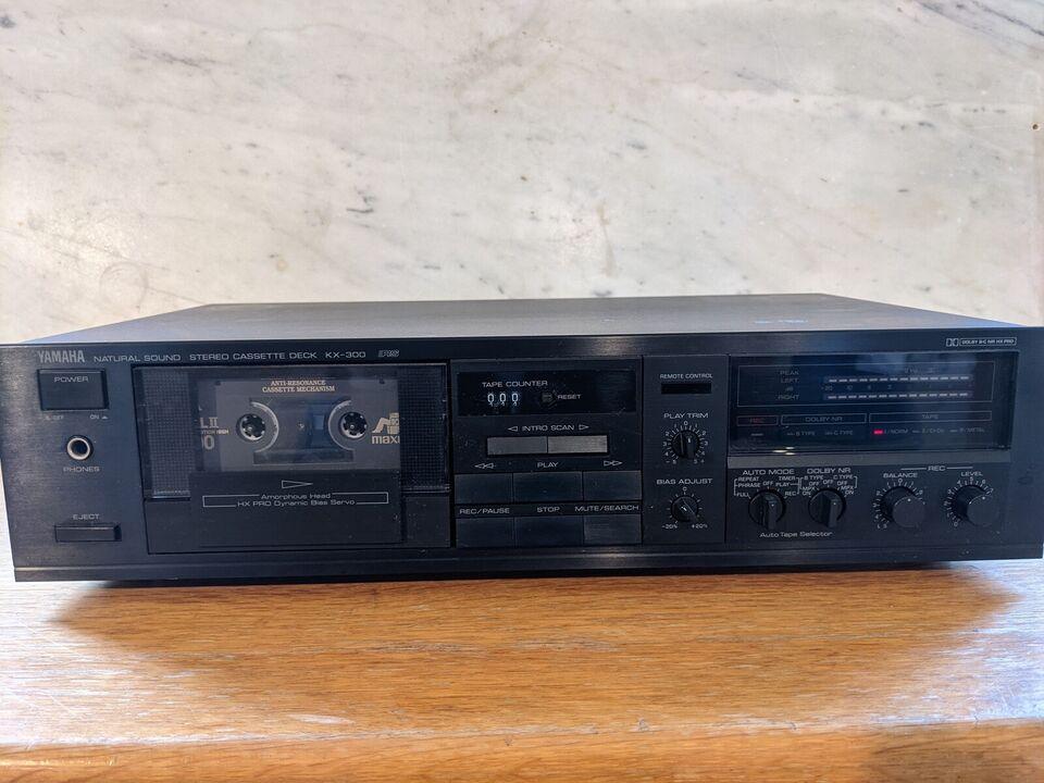 Båndoptager, Yamaha, Kx-300