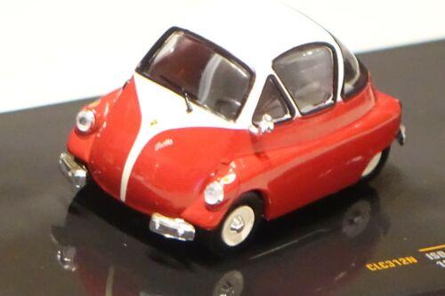 Iso Isetta 1955 rot weiß 1:43 Ixo CLC312N neu /& OVP