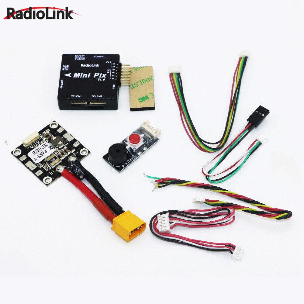 Radiolink Mini PIX&Mini M8N GPS Flight Control Vibration Damping Atitude Hold