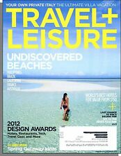 Travel & Leisure - 2012, March - Undiscovered Beaches, Ultimate Italian Villa