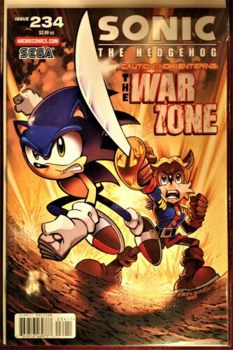 SONIC The HEDGEHOG Comic Book Issue # 234 April 2012 AMY ROSE Bagged Boarded MNT