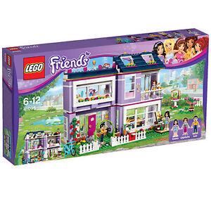 Lego Friends Emmas Familienhaus 41095 Ebay