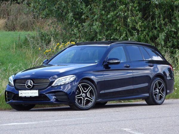 Mercedes C220 d 2,0 AMG Line stc. aut. billede 0