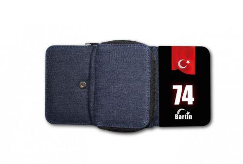 Damen Tasche Geldbörse Portemonnaie Türkei Bartin 74 Türkiye Plaka