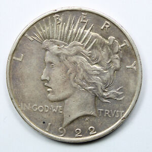 Piece-Argent-Etats-Unis-1-dollar-Peace-Dollar-1922-USA-Silver-Coin