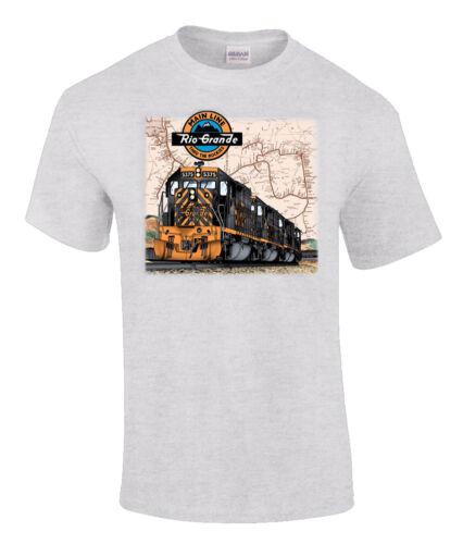 10027 Rio Grande Tunnel Motors Authentic Railroad T-Shirt