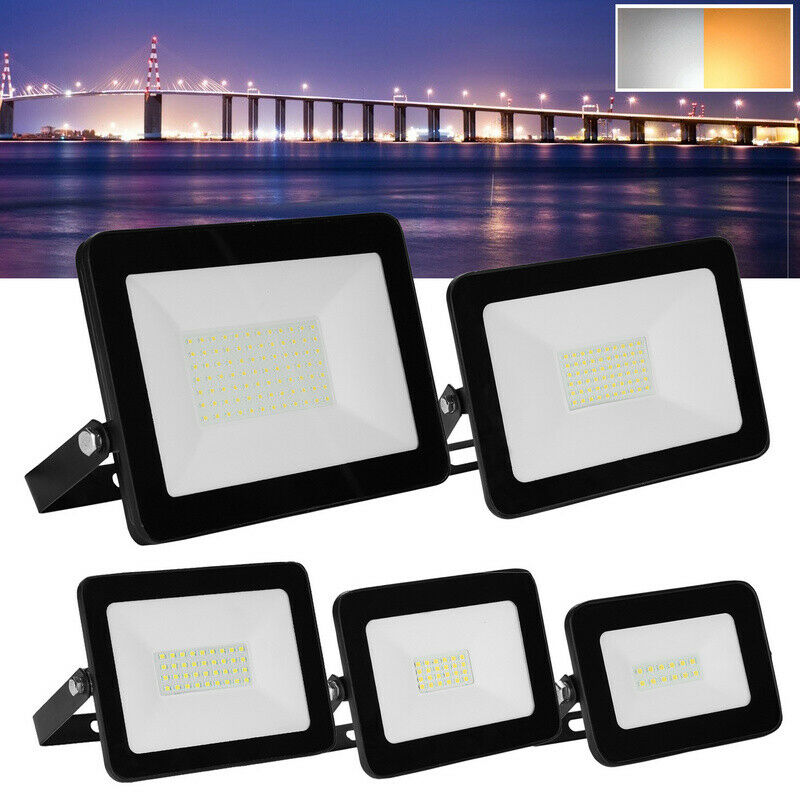 LED Fluter IP65 Bewegungsmelder Flutbeleuchtung RGB Innenbeleuchtung 10W-100W