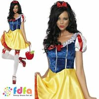FEVER SNOW WHITE FAIRYTALE PRINCESS UK 4-18 - adults ladies fancy dress costume