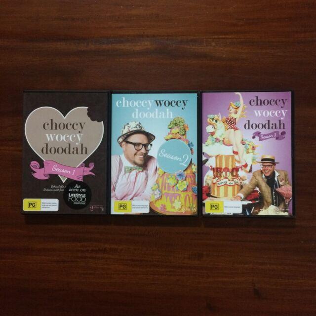 Choccy Woccy Doodah Season 1+2+3 : 6 Disc Set-FREE POSTAGE