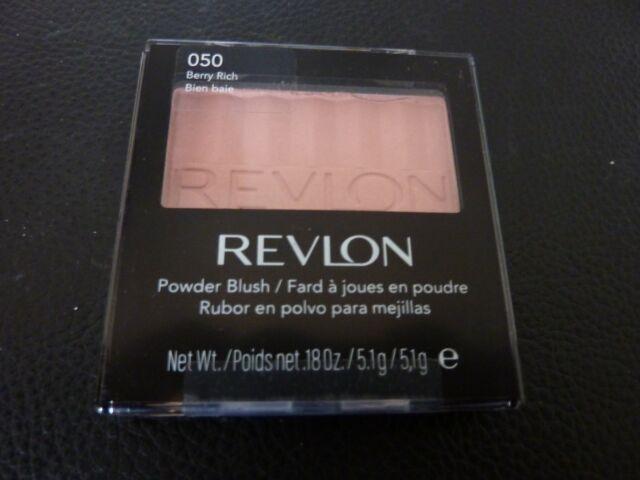 Revlon Powder Blush - BERRY RICH  # 050  - Brand New / Sealed