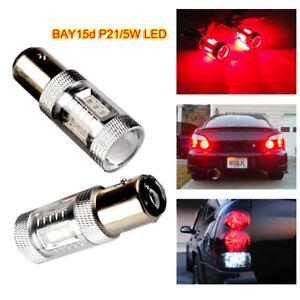 Stop Lampe Sur Feux 2 Bay15d Détails Et 15smd Ampoules Recul 1157 Rouge Samsung P215w Led vN8nOm0w