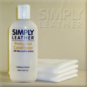 Simply-Leather-PROTECTION-CONDITIONER-with-2-Cleaning-Cloths