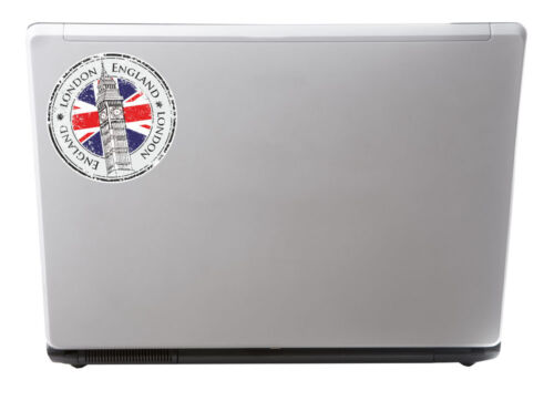 2 x 10cm London England UK Vinyl Sticker Travel Luggage Tag Laptop Gift #5998