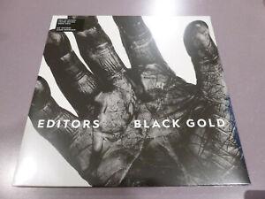 Editors-Black-Gold-2LP-ltd-white-Vinyl-Neu-amp-OVP-incl-DLC