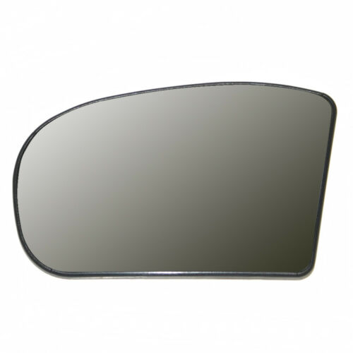 Mirror Glass Left Side Wide Angel Heated Base For Mercedes C class W 203 2000 03