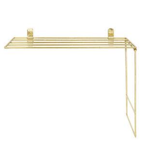 Bloomingville-Handtuch-Halter-Gold-Deko-Metall-30x50-cm-Handtuchstange-Kueche