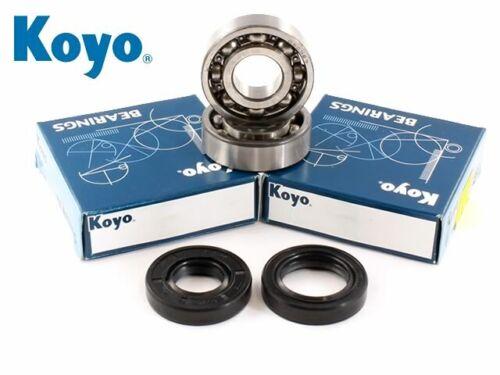 Yamaha PW 50 1981-2013 Koyo Mains Crank Bearing /& Oil Seal Kit