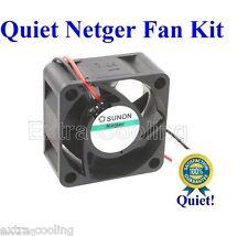 Quiet Netgear GS724T GS724Tv2 Fan 1x Sunon MagLecv 10dBA noise Supper Silent