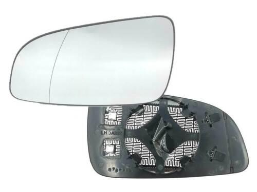 Cristal de Retrovisor Espejo Exterior Izquierda Aspärisch Calentado Opel Astra H