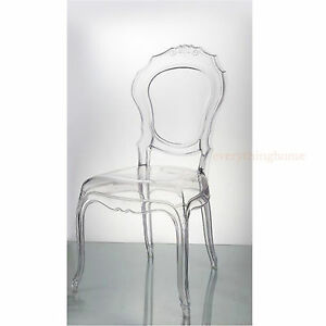 Clear-Transparent-Ghost-Vanity-Dining-Side-Chair-French-Baroque-Polycarbonate